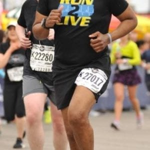 Stephen Jackson Running The Brooklyn Half Marathon